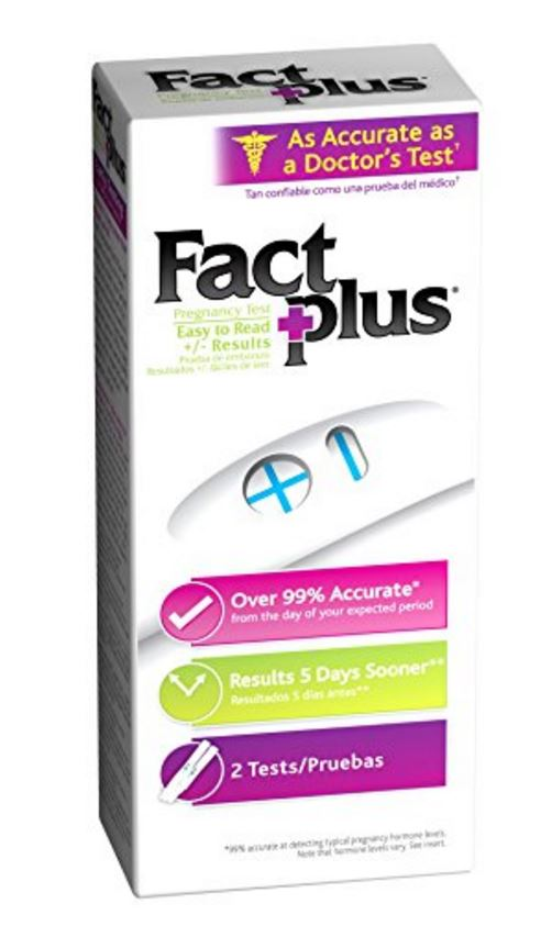 fact plus pregnancy test