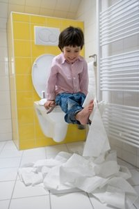 Adventures in with Toilet Paper!